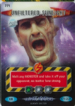 UNFILTERED SUNLIGHT  #771  Doctor Who ULTIMATE MONSTERS  Battles InTime Ultra Rare UR3D Card-  10614
